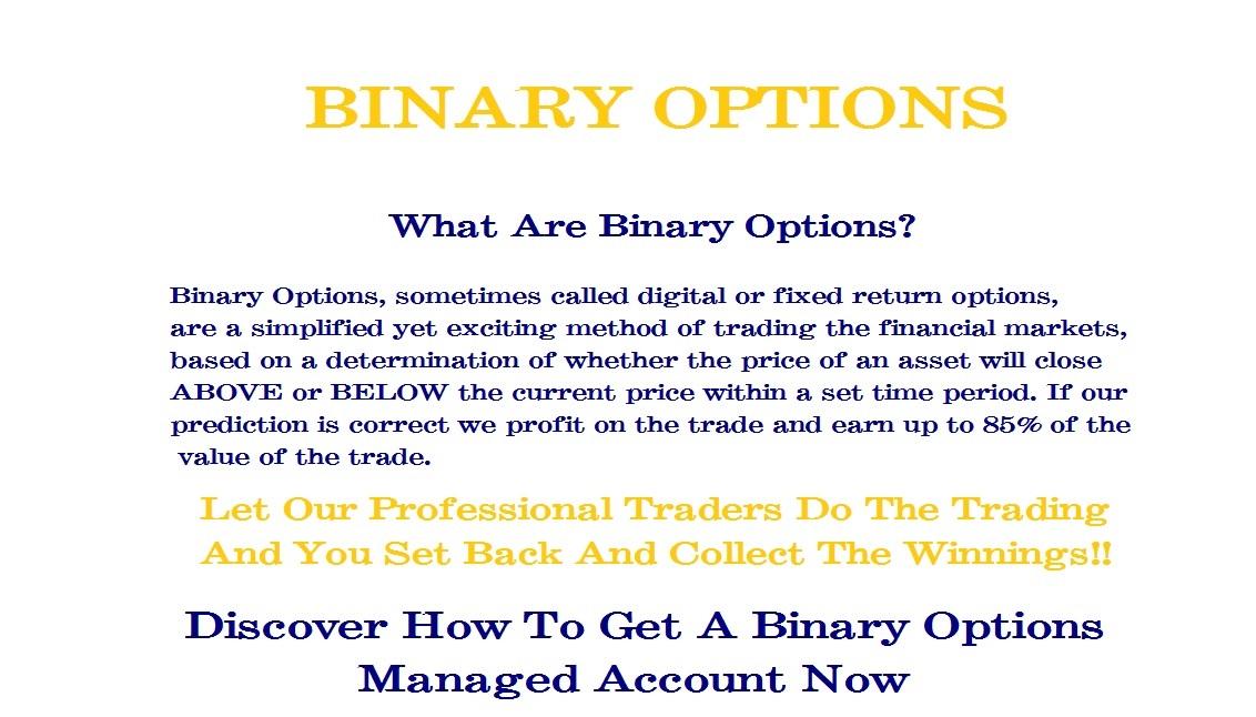 Blue sky binary trading group